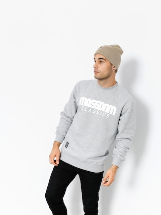 Bluza MassDnm Classics (light heather grey)