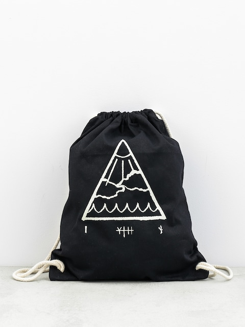 Plecak Youth Skateboards Triangle Premium (black)