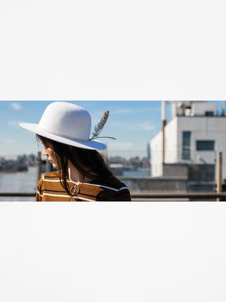 Kapelusz Brixton Sol Hat Wmn (ivory)