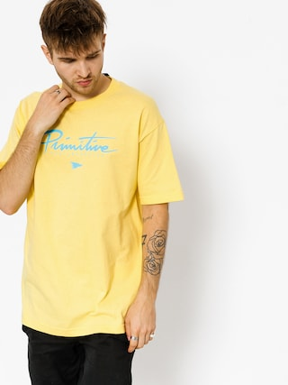 T-shirt Primitive Core Logo (yellow)