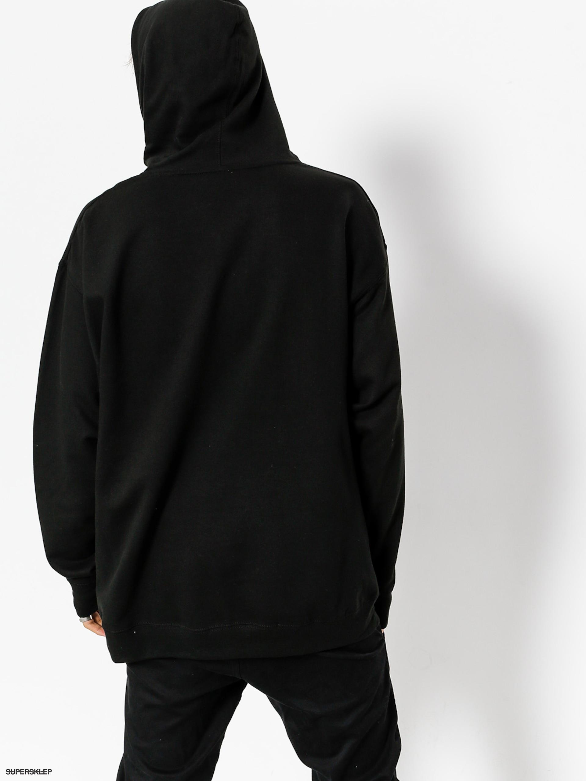 Bluza z kapturem Primitive Core Logo 2 HD (black)