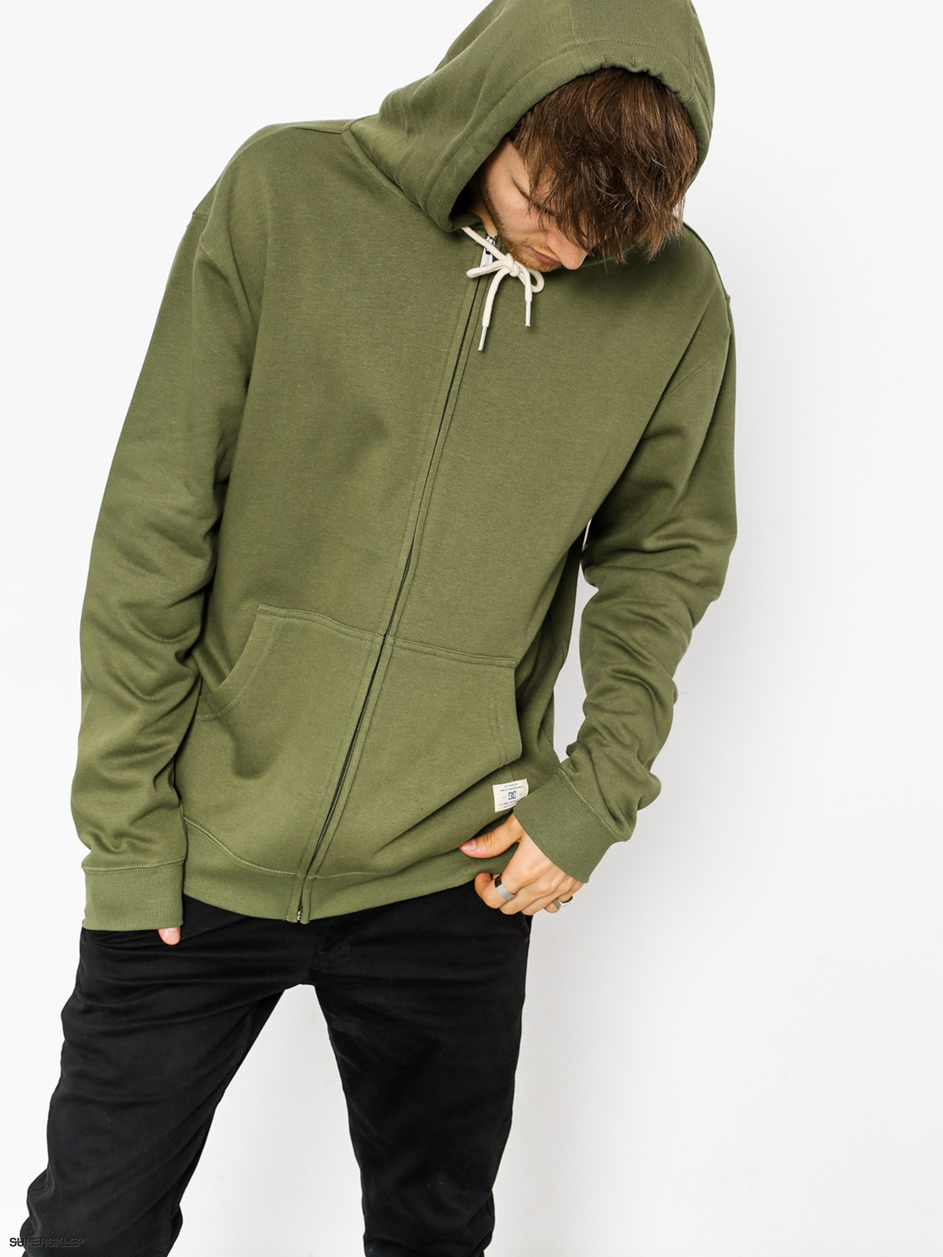 Bluza z kapturem DC Rebel ZHD (vintage green)