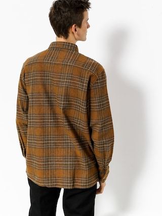 Koszula Brixton Archie Flannel Ls (copper/shale brown)