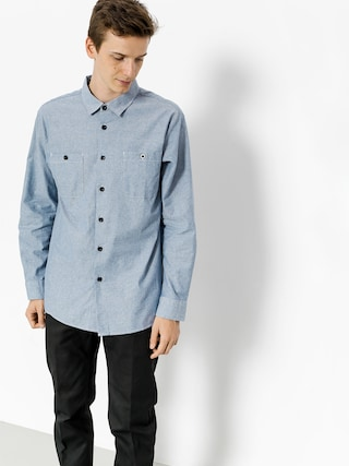 Koszula Brixton Reeve Wvn Ls (light blue chambray)