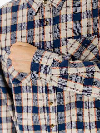 Koszula Brixton Hoffman Flannel Ls (blue/grey)
