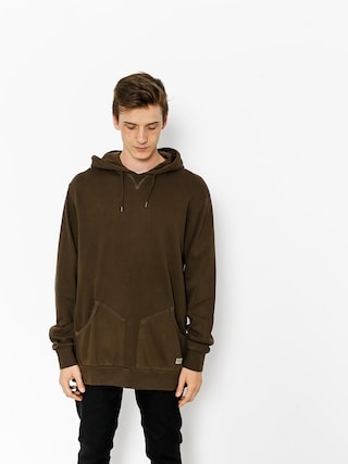 Bluza z kapturem Brixton Hackney HD (washed brown)
