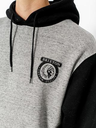 Bluza z kapturem Brixton Native HD (heather grey/black)