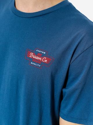 T-shirt Brixton Federal (deep blue)