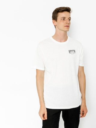 T-shirt Brixton Langley (off white)