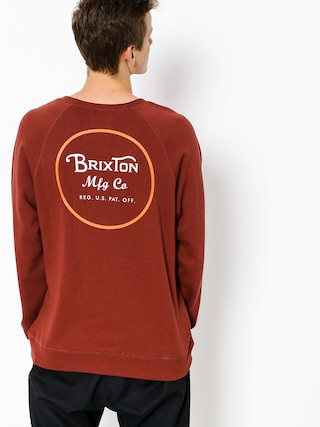 Bluza Brixton Wheeler (brick)