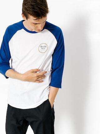 Koszulka Brixton Wheeler 3I4 (white/cobalt)