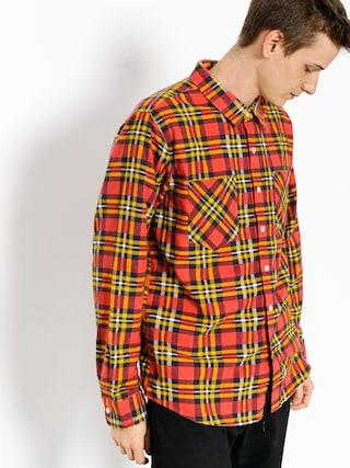 Koszula Brixton Bennett Flannel Ls (red/gold)