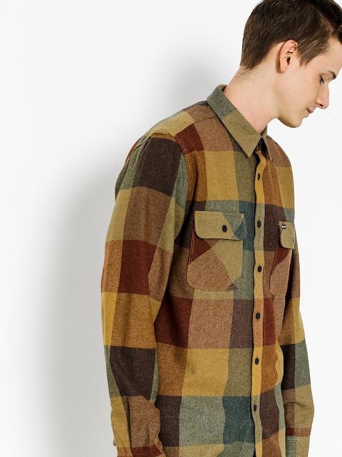 Koszula Brixton Bowery Flannel Ls (rust/copper)