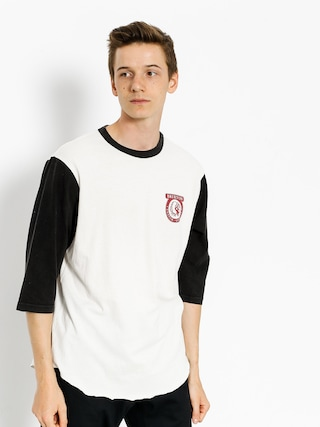 T-shirt Brixton Native Wshd 3I4 (off white/black)