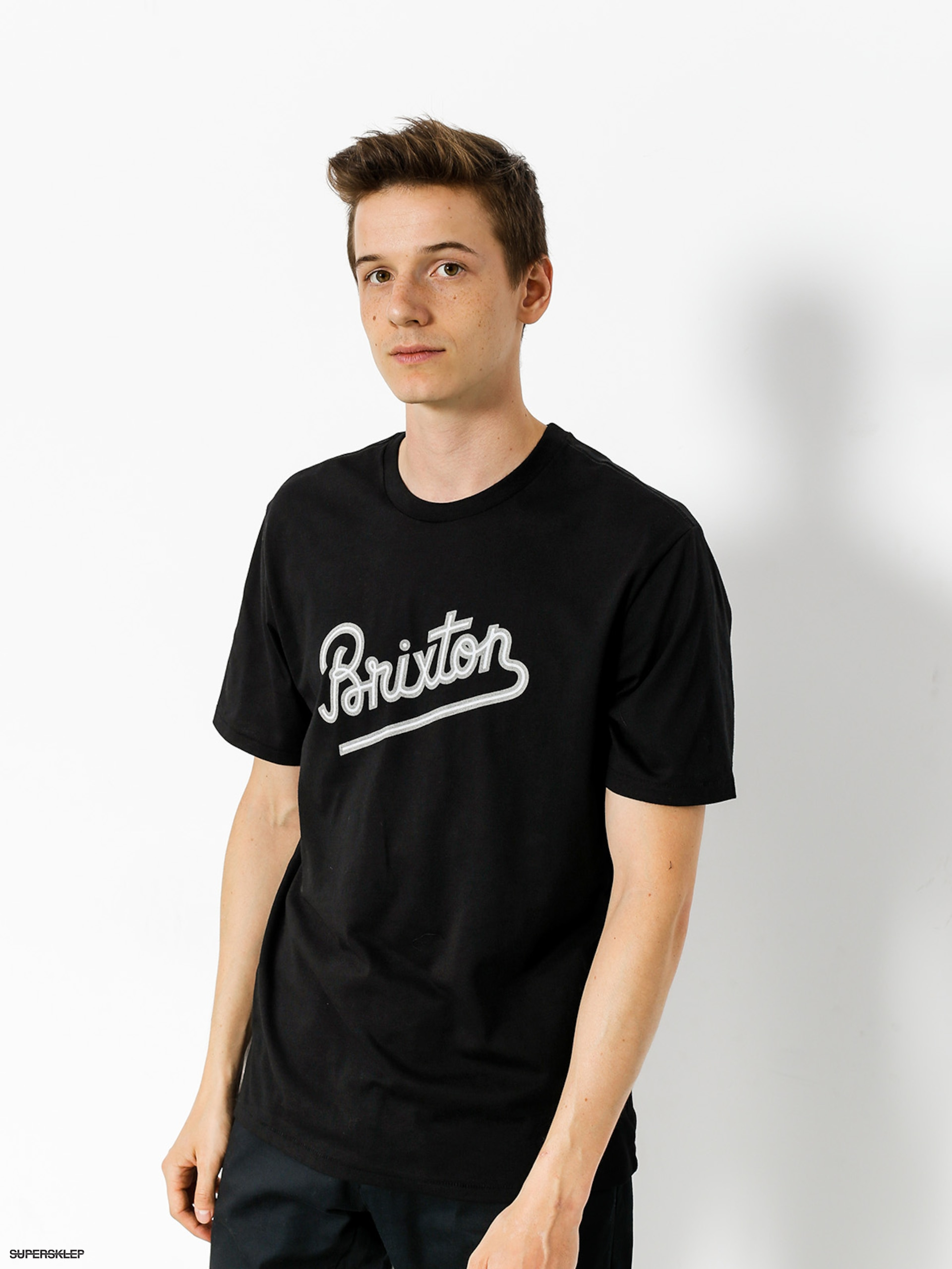 T-shirt Brixton Hammond (black)