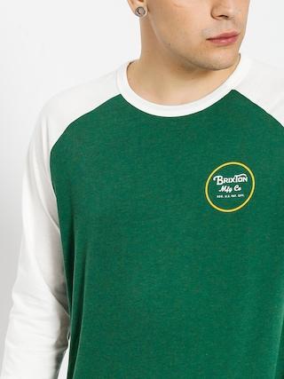 Koszulka Brixton Wheeler 3I4 (heather forest)
