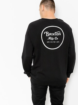 Bluza Brixton Wheeler (black/white)
