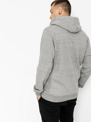 Bluza z kapturem Brixton Bering ZHD (heather grey)