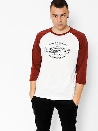Koszulka Brixton Concord 3I4 (off white)
