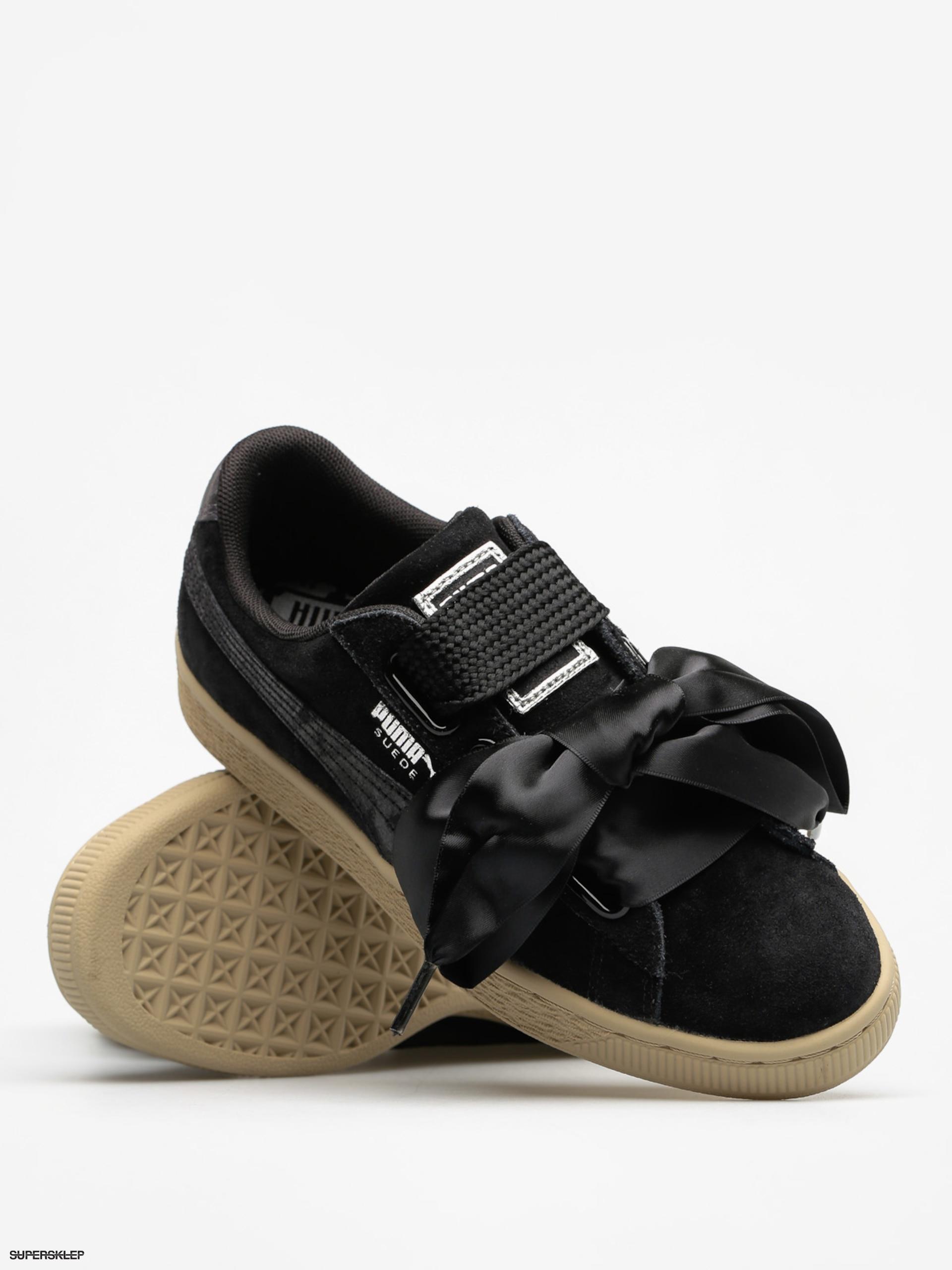 online store 82d78 396a6 Buty Puma Suede Heart Safari Wn S Wmn (puma black/puma black)