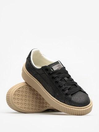 Buty Puma Basket Platform Lux Wn S Wmn (puma black/puma black)