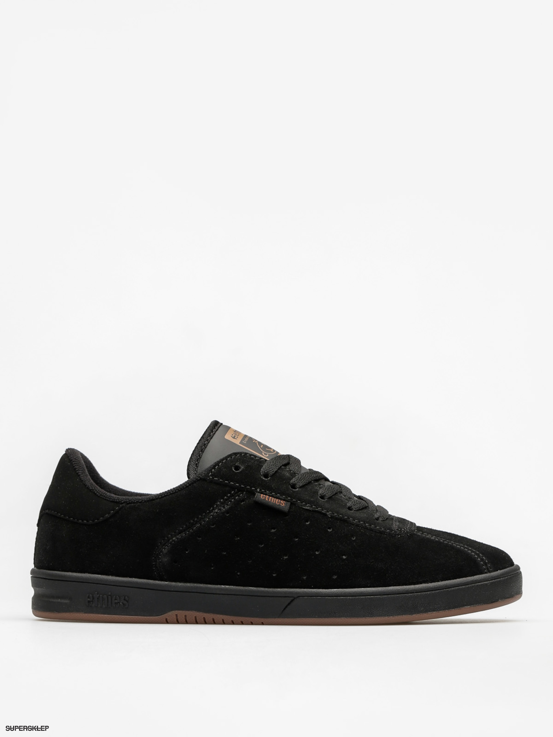 Buty Etnies The Scam (black/black/gum)