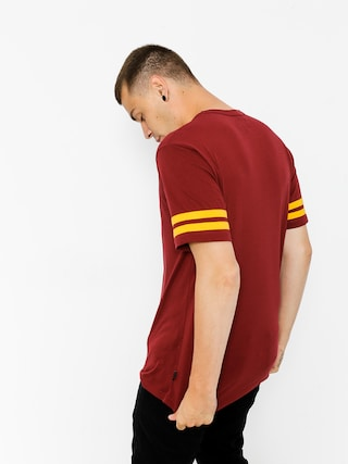 T-shirt Brixton Houston (burgundy)