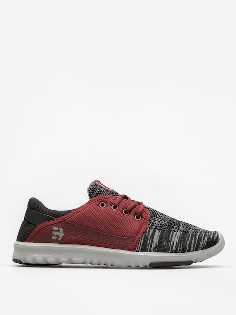 Buty Etnies Scout YB (black/grey/red)