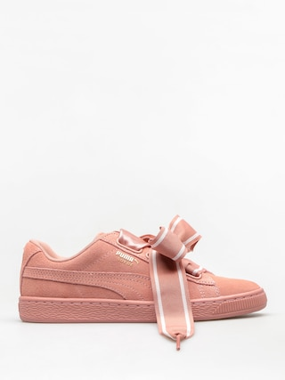 Buty Puma Suede Heart Satin II Wn S Wmn (cameo brown/cameo brown)