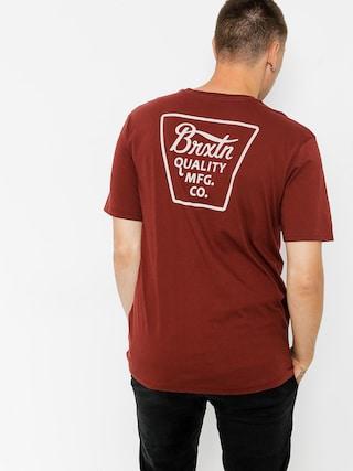 T-shirt Brixton Potrero (brick)