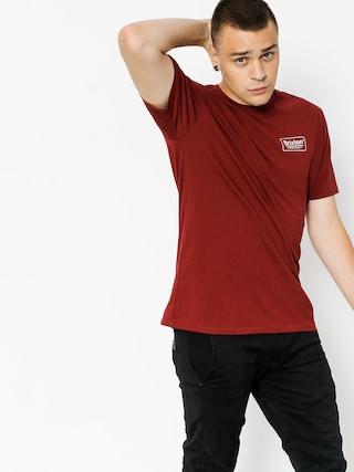 T-shirt Brixton Palmer (burgundy/white)
