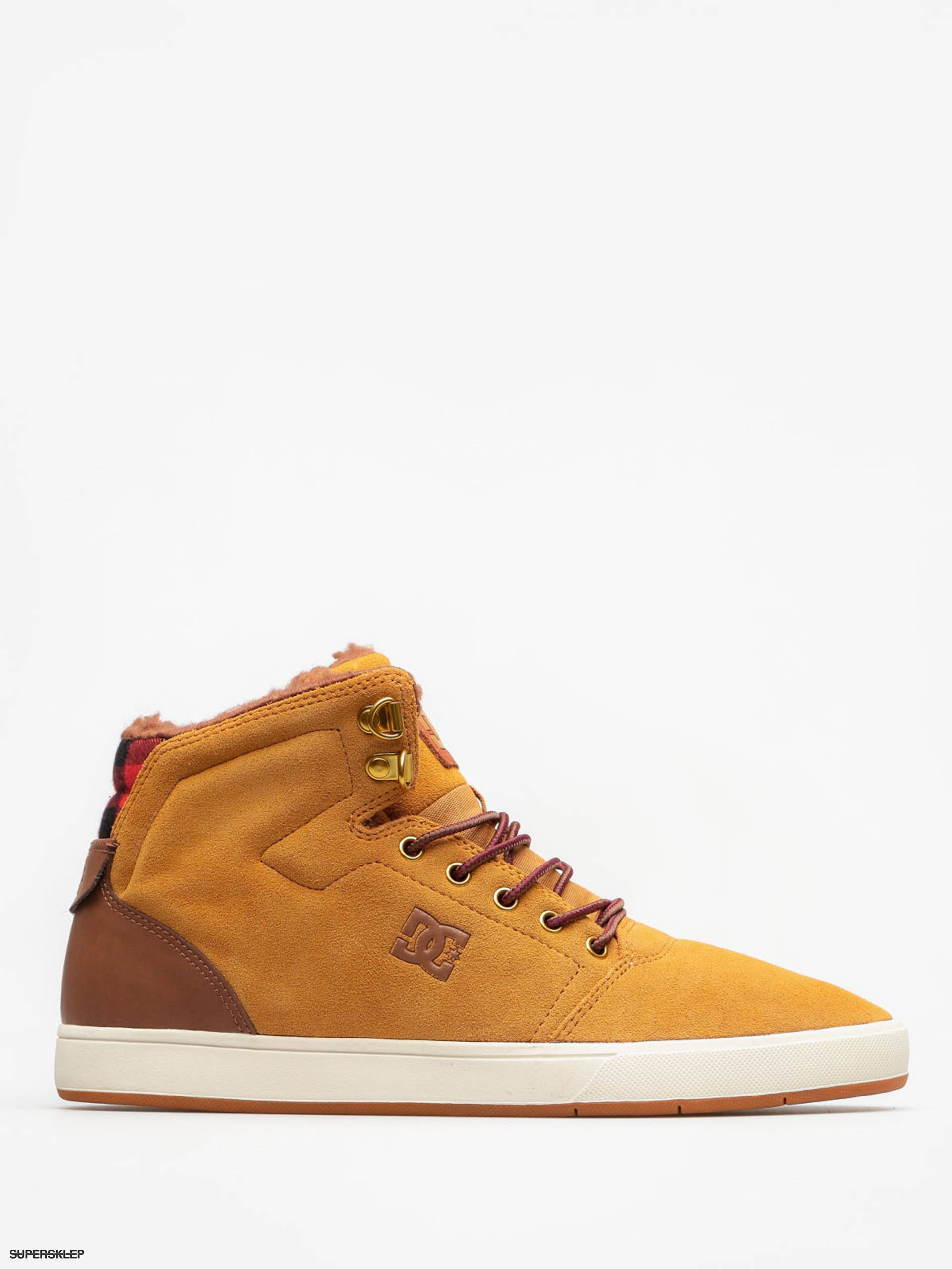 Buty zimowe DC Crisis High Wnt (wheat/dark chocolate)