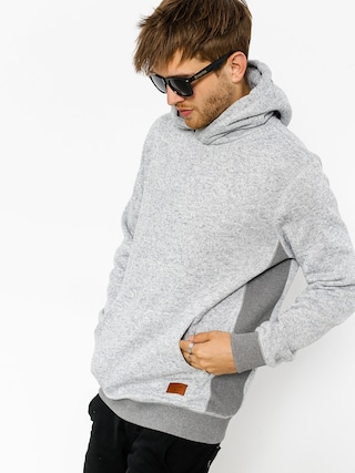 Bluza z kapturem Quiksilver Keller HD (light grey heather)