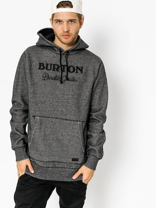 Bluza z kapturem Burton Maynard HD (true black heather)