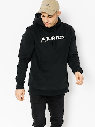 Bluza z kapturem Burton Mtn Lgo Hztl HD (true black)