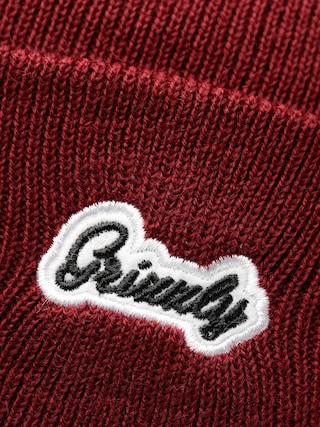 Czapka zimowa Grizzly Griptape Cursive Beanie (burgundy)