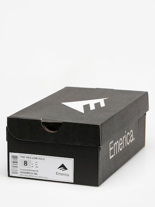 Buty Emerica The Hsu Low Vulc (black/grey/white)