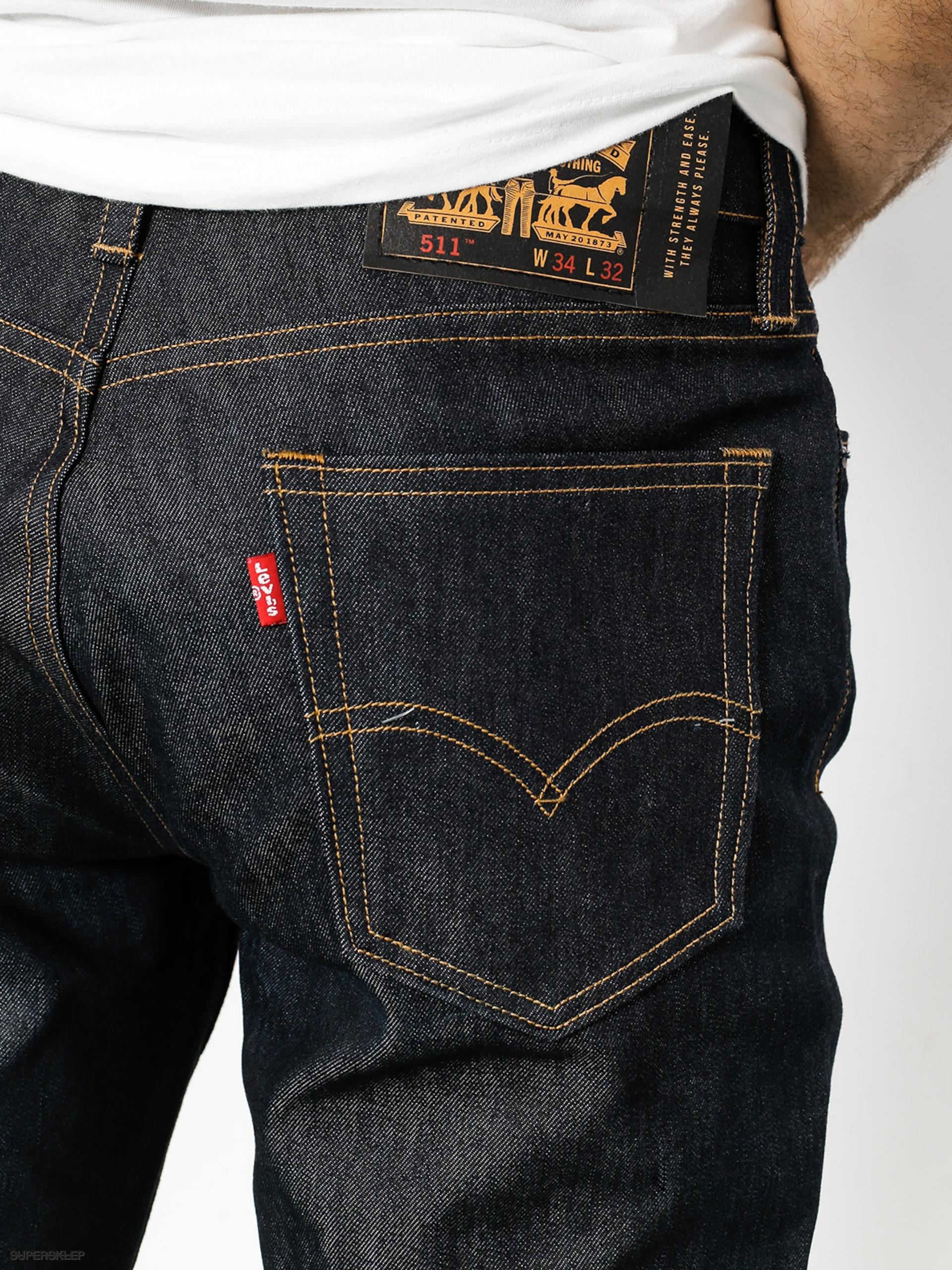 Levi's 5 Spodnie Skate Slim Pocket Indigo 511 Serigid xsdhQrtC