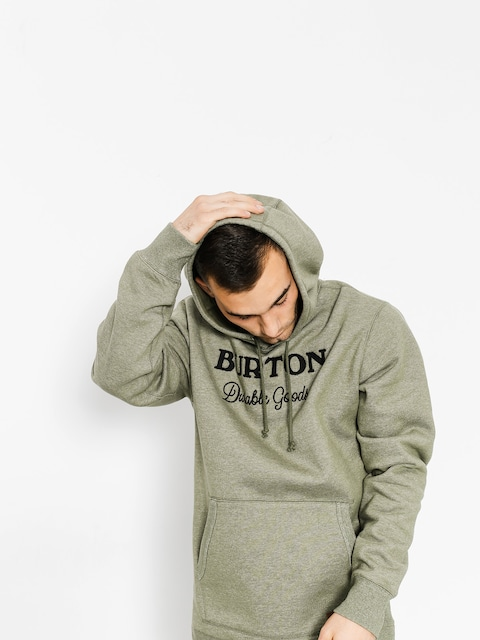 Bluza z kapturem Burton Maynard HD (dusty olive heather)