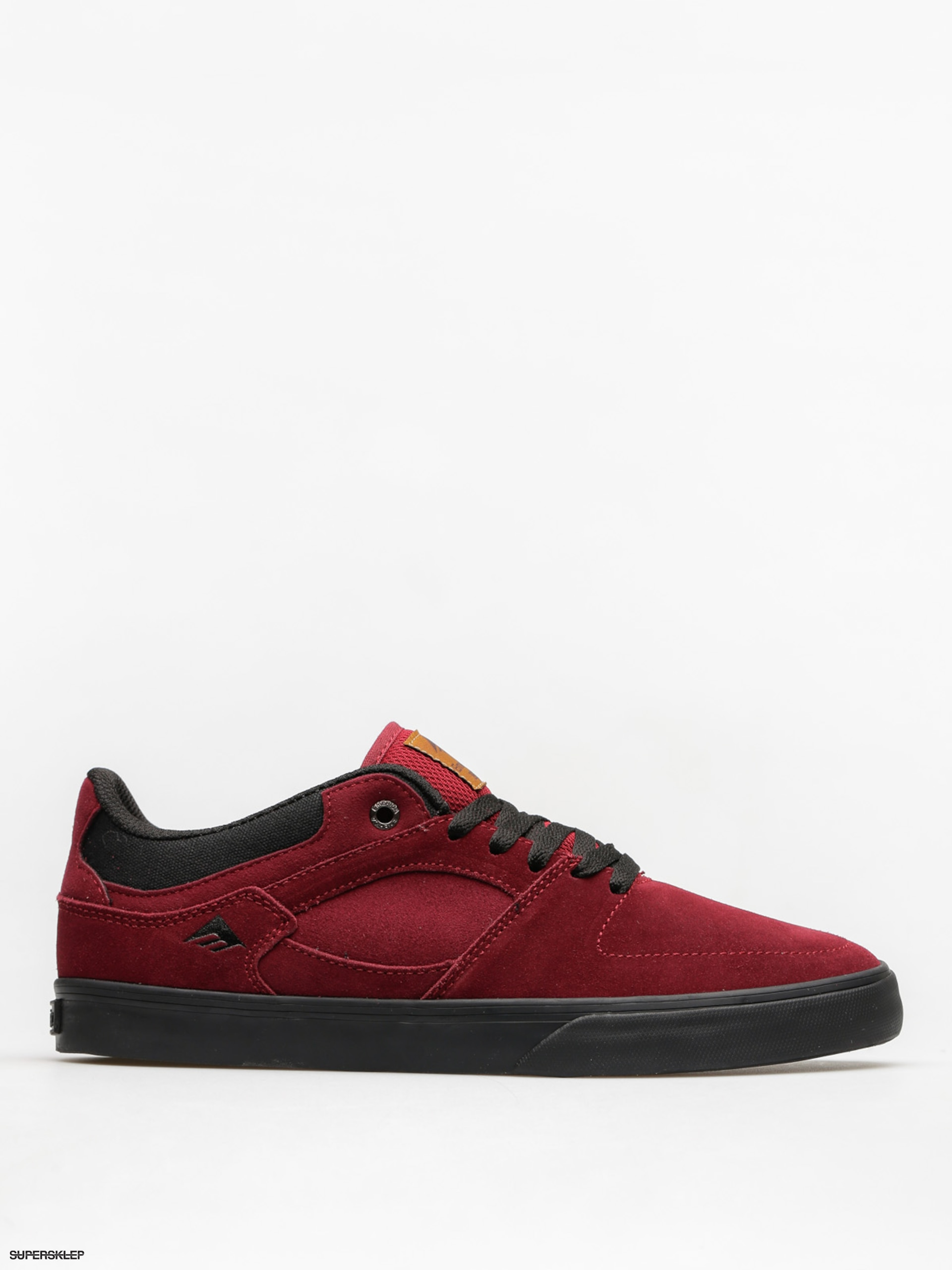 Buty Emerica The Hsu Low Vulc (burgundy)