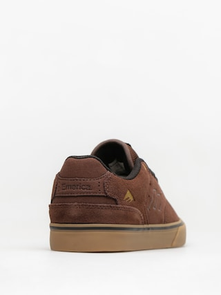 Buty Emerica The Reynolds Low Vulc (brown/gum/gold)