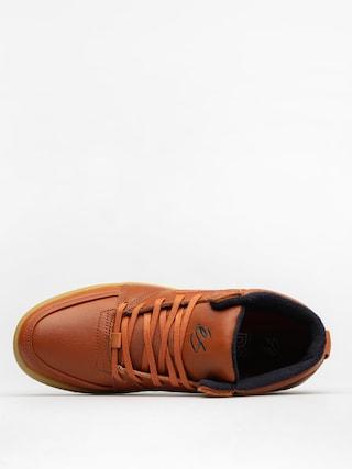 Buty Es Accel Slim Mid (brown/gum/gold)