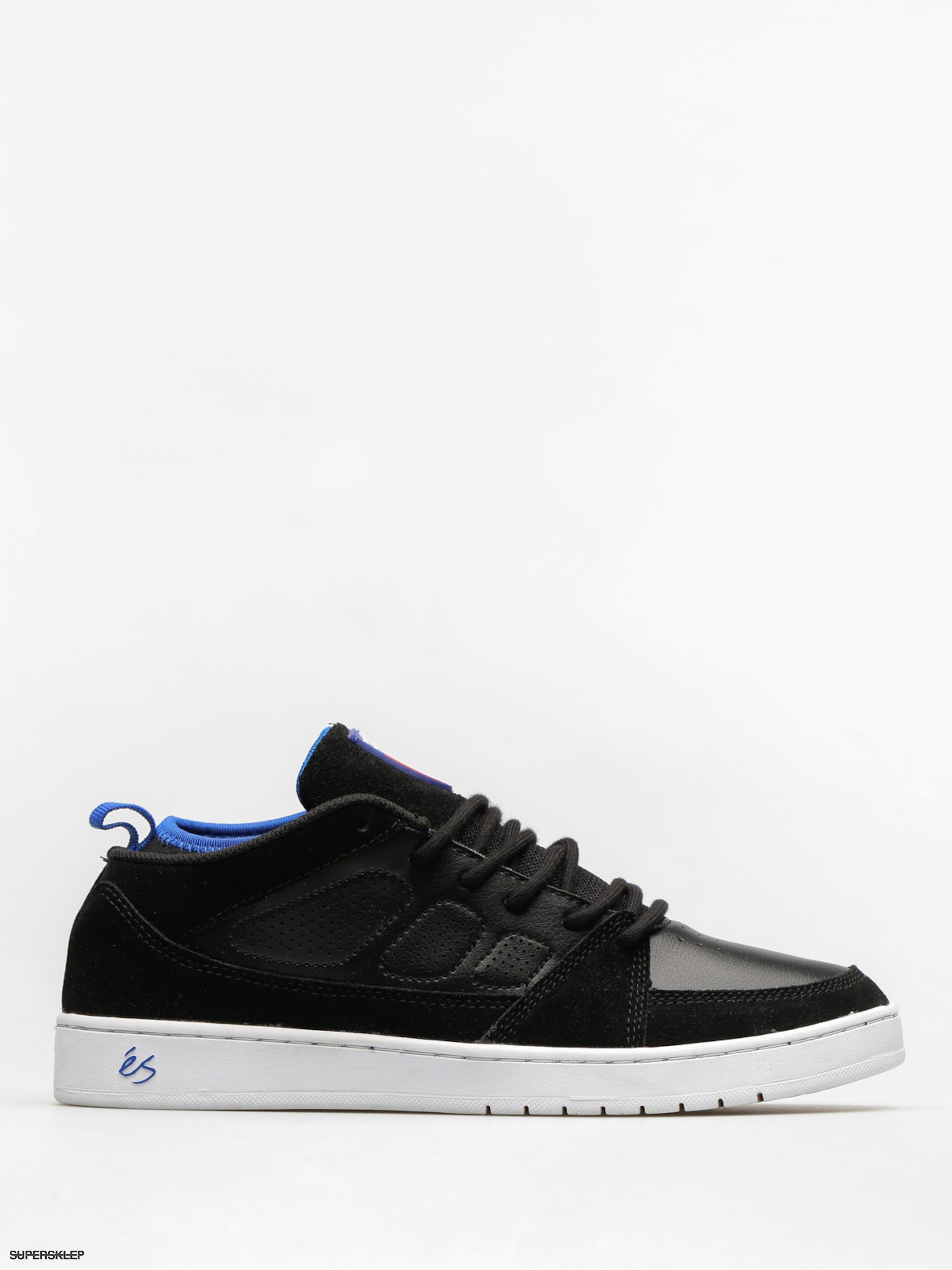 Buty Es Slb Mid (black/white/royal)