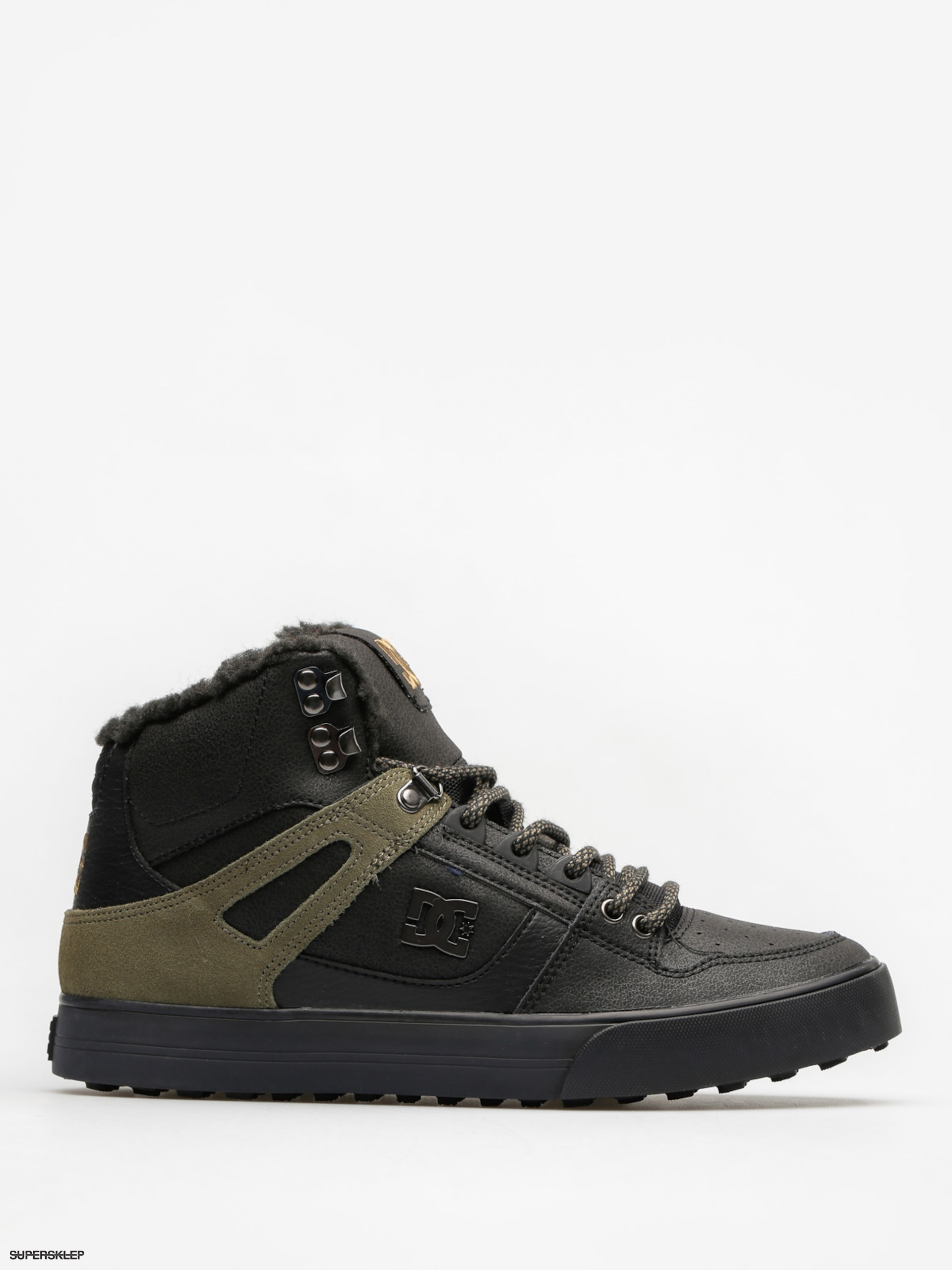 Buty zimowe DC Spartan High Wc Wnt (black/olive)