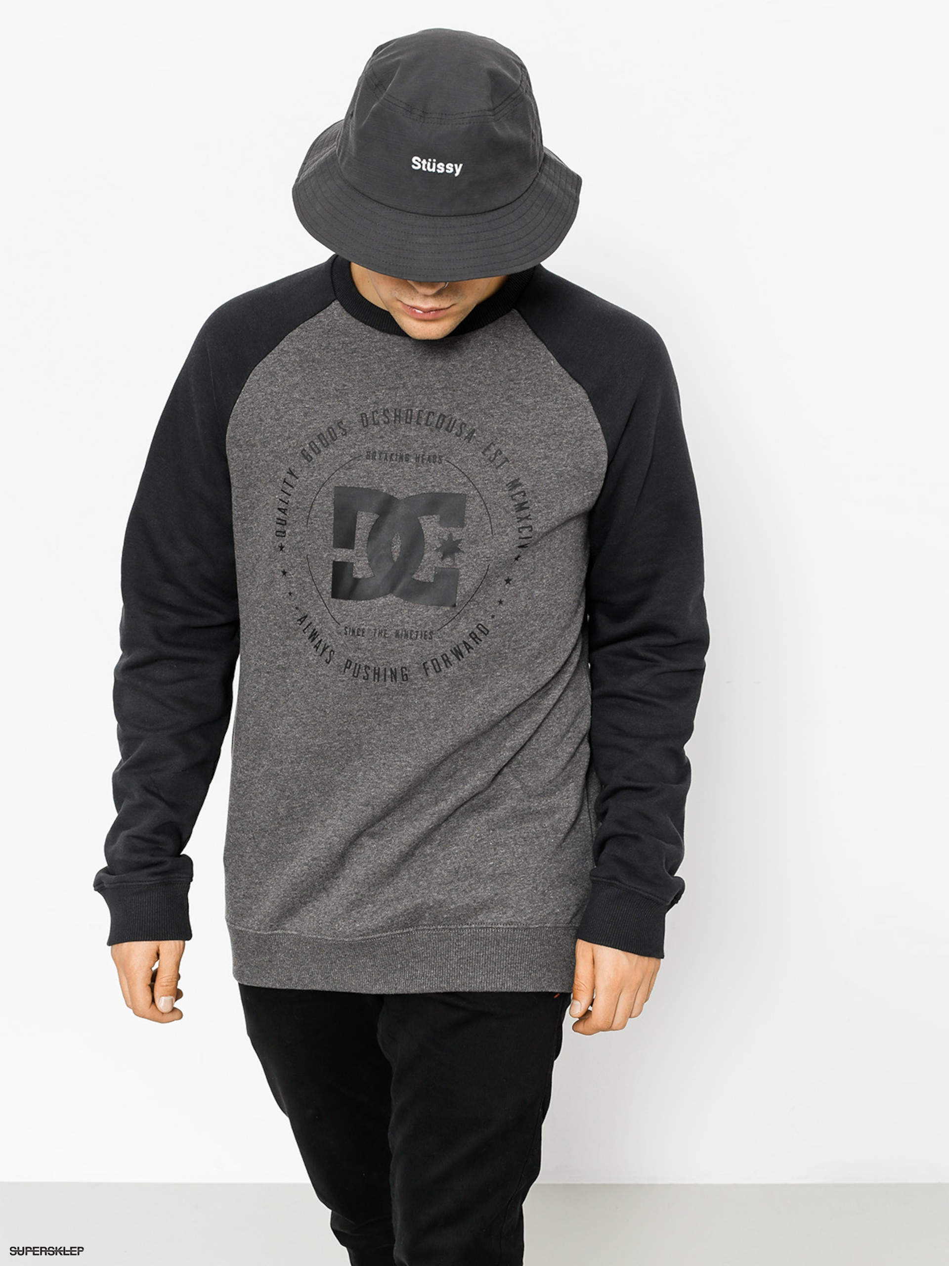 Bluza DC Rebuilt 2 (charcoal heather)