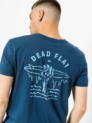 T-shirt Quiksilver Garment Dye Dead Flat (dark denim)