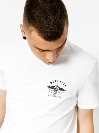 T-shirt Quiksilver Garment Dye Dead Flat (white)