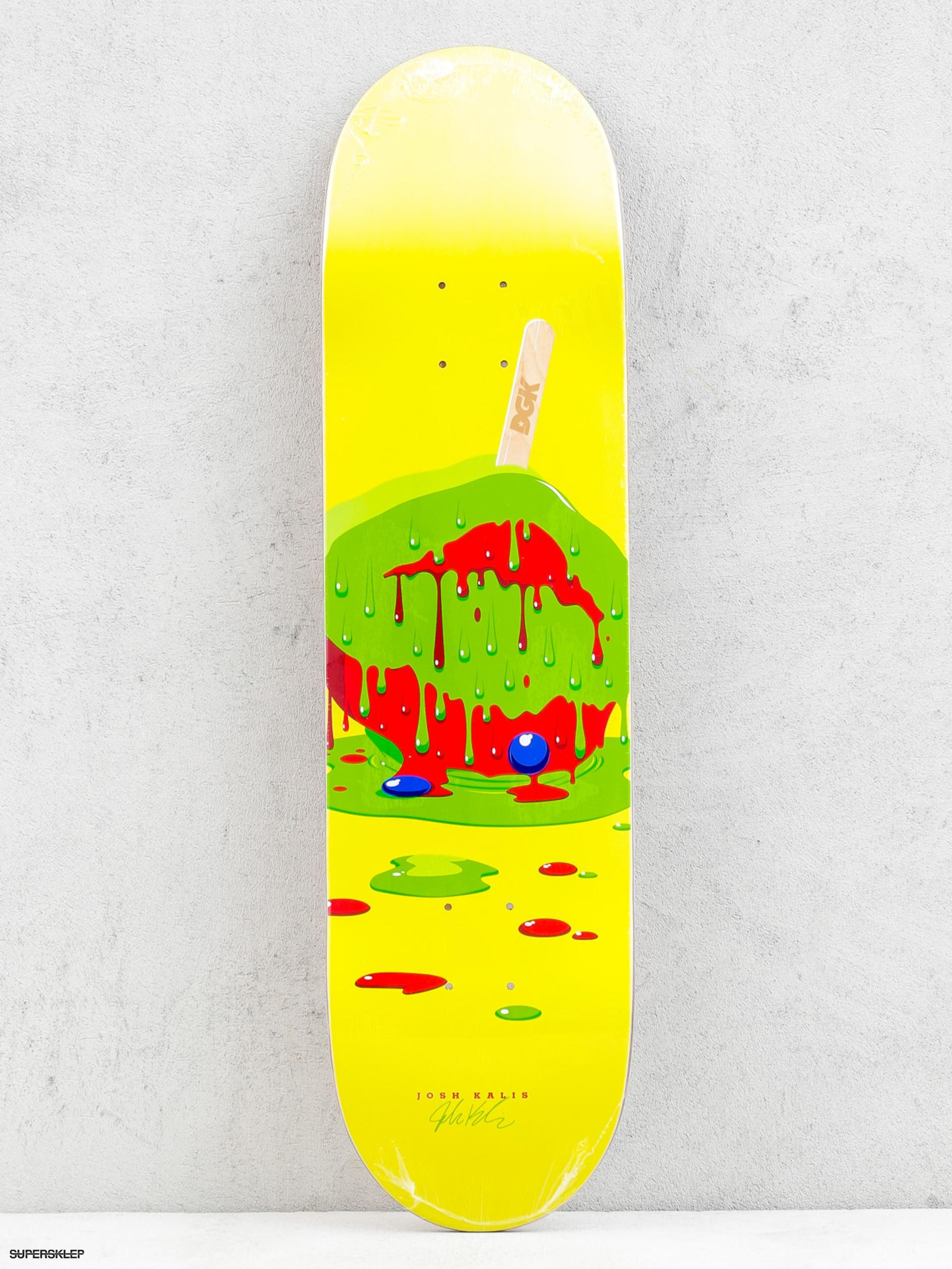 Deck DGK Melted Josh Kalis (yellow)