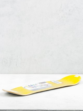 Deck Girl Skateboard Carroll Cantemporary (yellow/white)