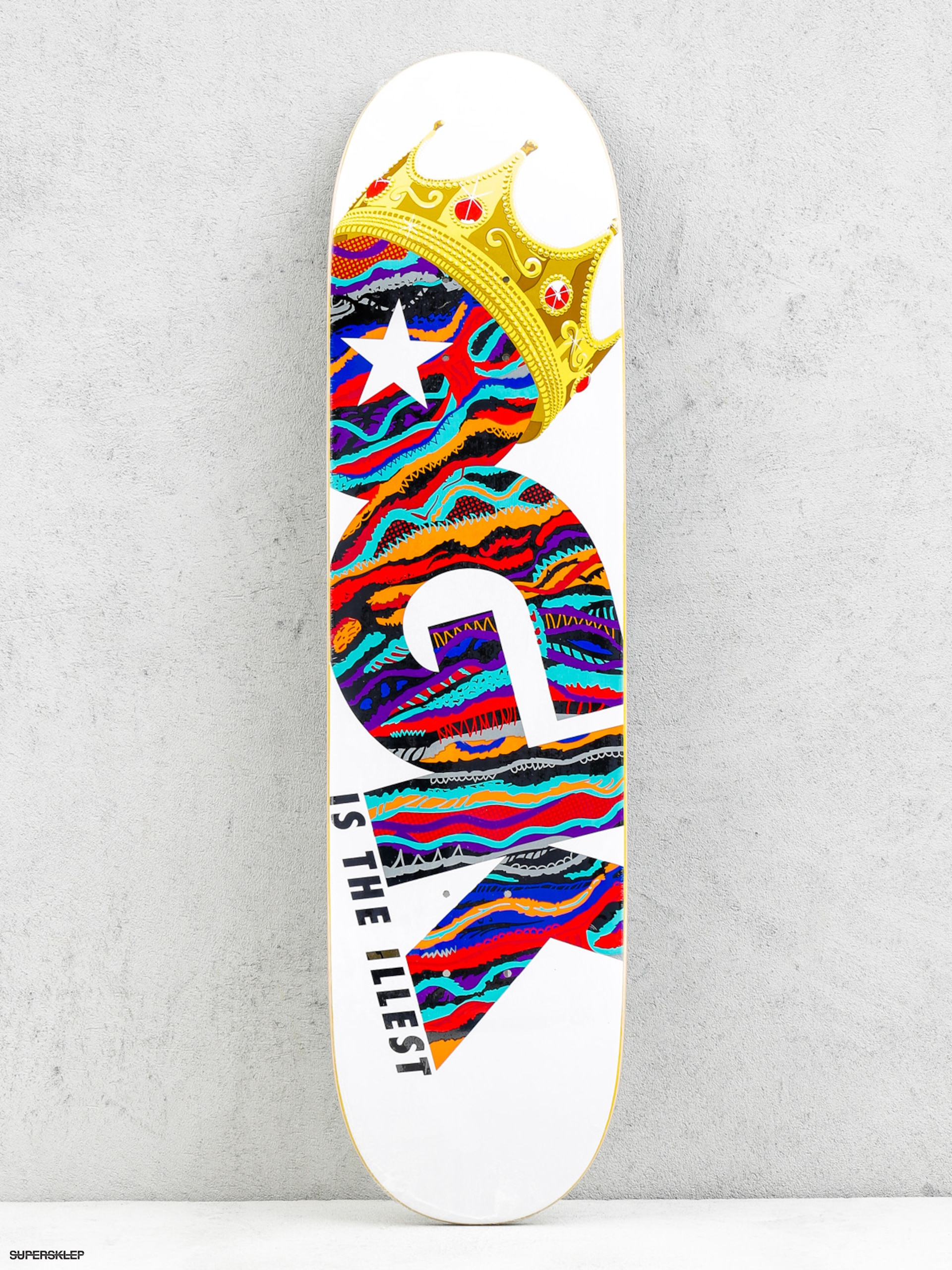 Deck DGK Is The Illest (white/multi)